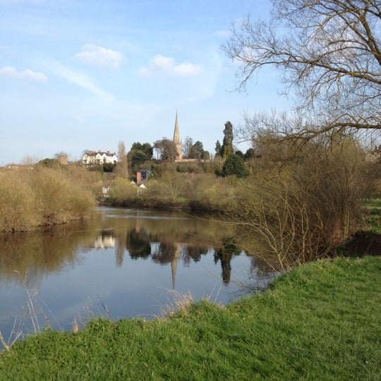 Photo taken at Ross-on-Wye by Shellie H. on 3/23/2012