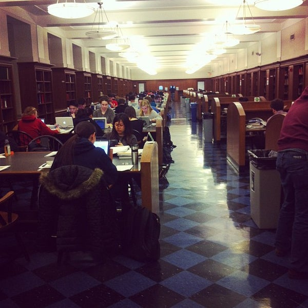 Photo taken at Butler Library by Jake S. on 2/21/2012