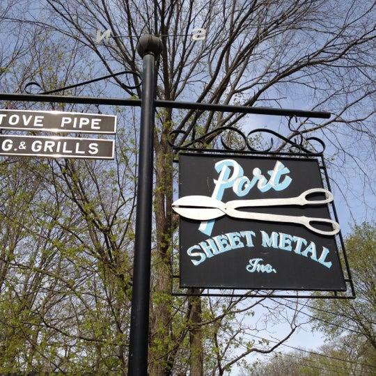 port sheet metal