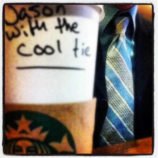 Photo taken at Starbucks by Jason I. on 2/18/2012