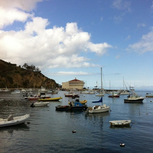 Photo taken at Santa Catalina Island by Sara B. on 4/12/2012