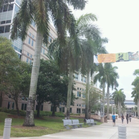 Photo taken at NSU: Alvin Sherman Library by Sissi D. on 6/16/2012