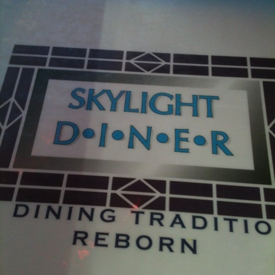 Photo taken at Skylight Diner by Ron C. on 2/13/2012