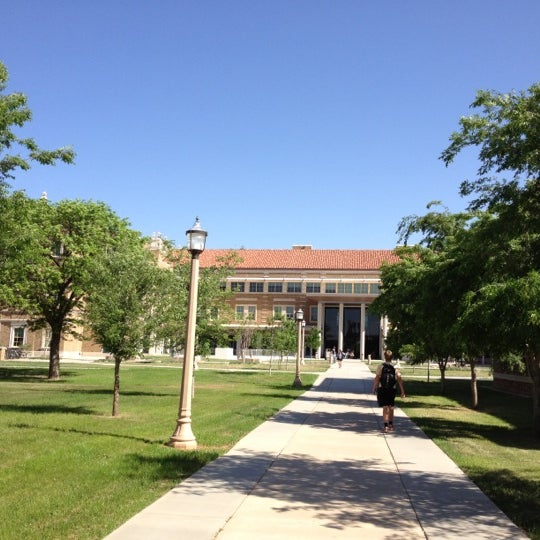 Photo taken at TTU - Rawls College of Business by Heather M. on 4/18/2012