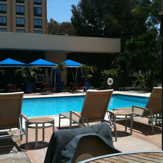 Photo taken at Four Points by Sheraton Los Angeles International Airport by Paul M. on 5/18/2012