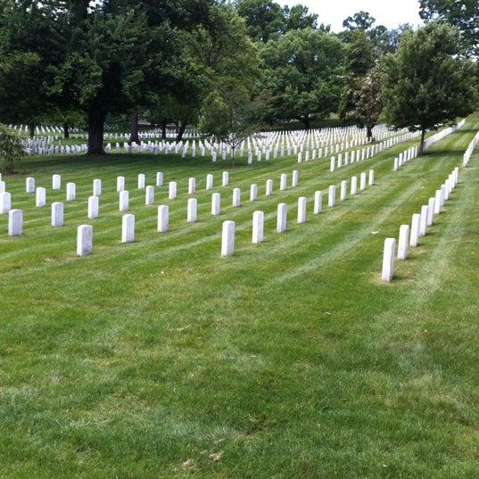 Photo taken at Arlington National Cemetery by Brenda N. on 5/20/2012