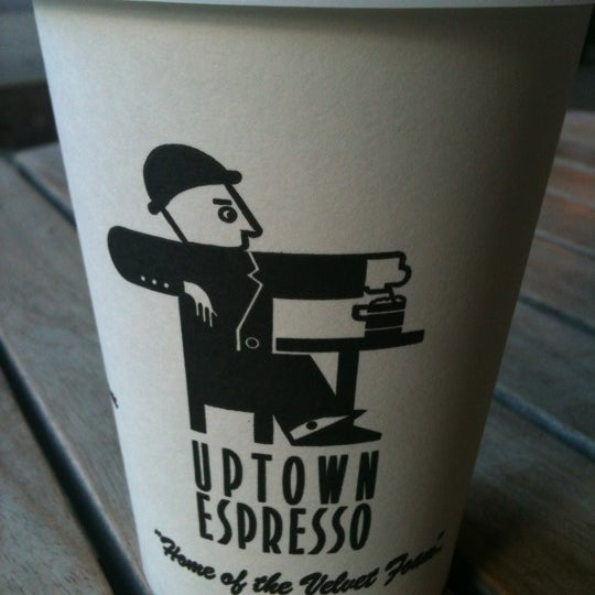 Photo taken at Uptown Espresso by Danielle P. on 8/24/2012