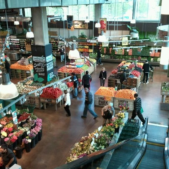Photo taken at Whole Foods Market by Sam Y. on 4/21/2012