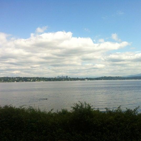 Photo taken at Denny Blaine Park by Matthew C. on 7/31/2012