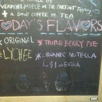 Photo taken at Culture: An American Yogurt Company by Vivie B. on 8/16/2012
