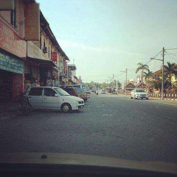 Photo taken at Pekan Merlimau by Namiedagreat N. on 6/25/2012