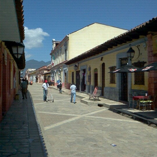 Photo taken at Andador Real de Guadalupe by San Cristobal E. on 9/6/2012