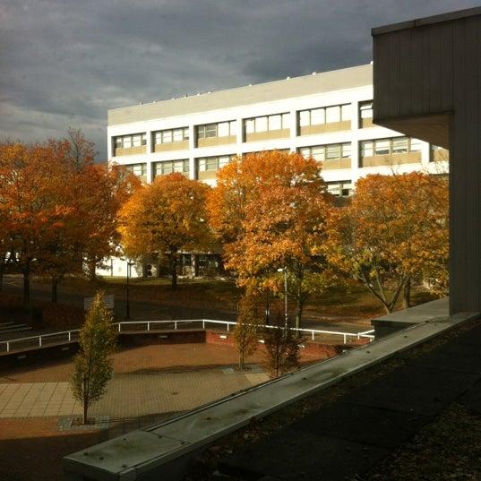 Photo taken at University of Warwick Library by Alina V. on 10/29/2011
