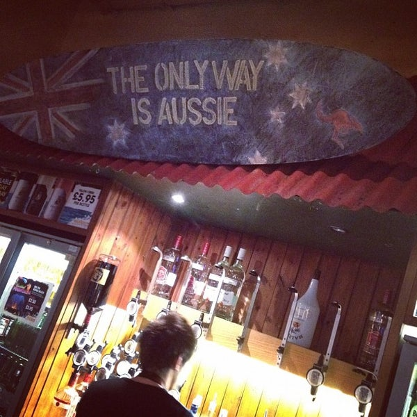 'The Only Way is Aussie', apparently...