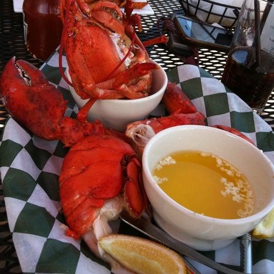 Photo taken at Weirs Beach Lobster Pound by Tim S. on 8/5/2011