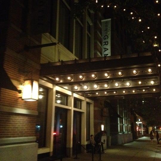 Photo taken at SoHo Grand Hotel by Orhun A. on 5/12/2012