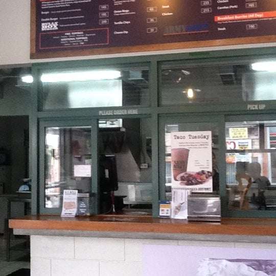 Photo taken at Army Navy Burger + Burrito by Daniel E. on 7/30/2011