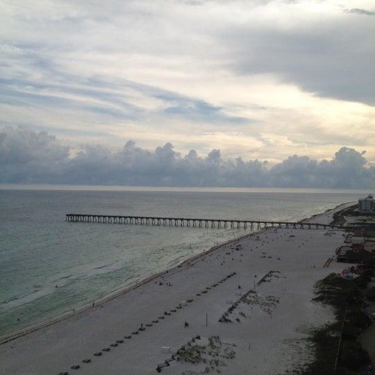 Photo taken at Hilton Pensacola Beach by David C. on 5/6/2012