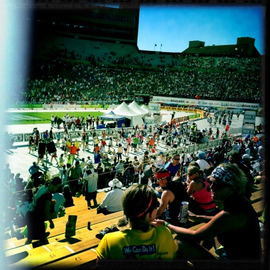 Photo taken at Folsom Field by Kevin H. on 5/28/2012