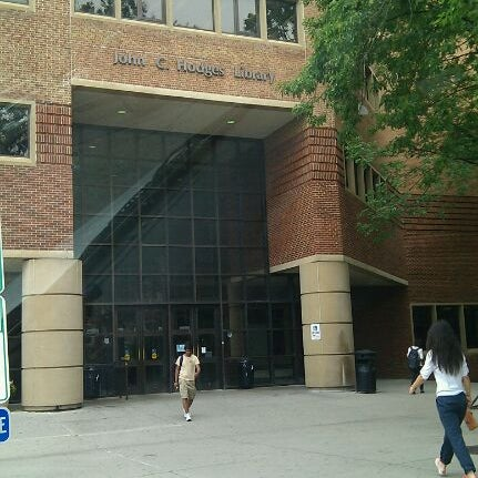 Photo taken at John C. Hodges Library by Kaity W. on 5/9/2012