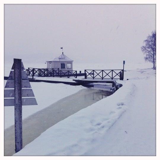 Photo taken at Vår Gård by Ann E. on 2/10/2011