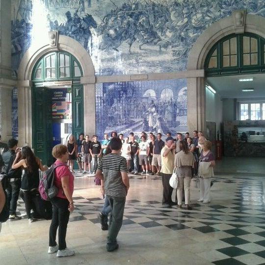 Photo taken at Estação Ferroviária de Porto-Campanhã by Luis P. on 10/14/2011
