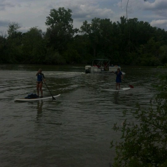 Photo taken at IPFW RiverFest by Jeff F. on 6/23/2012