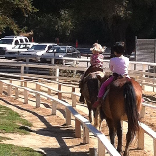 Photo taken at Griffith Park Pony Rides by Molly M. on 8/19/2011