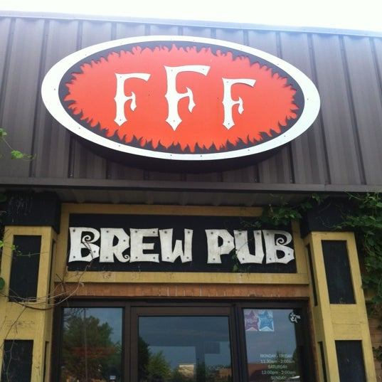 Photo taken at Three Floyds Brewery & Pub by Sam I. on 7/14/2012