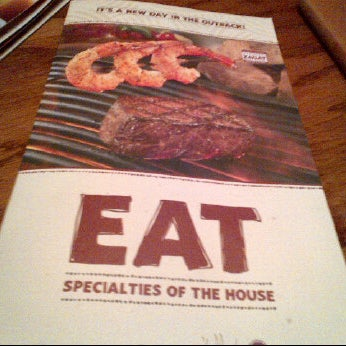 Photo taken at Outback Steakhouse by Huy N. on 1/14/2012