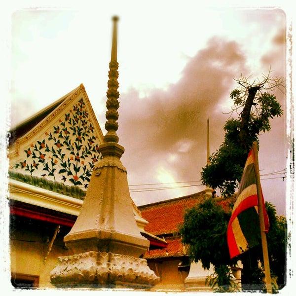 Photo taken at วัดหิรัญรูจีวรวิหาร (วัดน้อย) Wat Hiran Ruchi Worawihan (Wat Noi) by Bombay B. on 5/31/2012