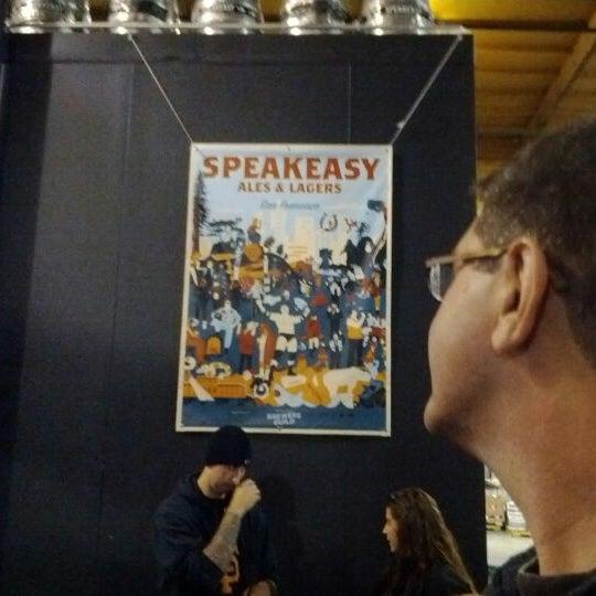 Photo taken at Speakeasy Ales & Lagers by Joe B. on 5/26/2012