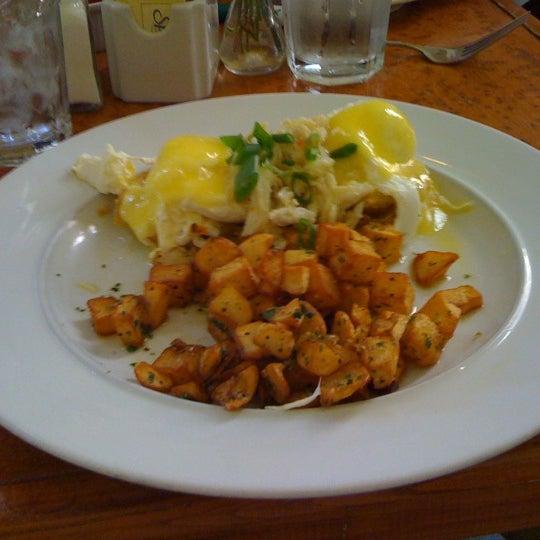 Photo taken at Atchafalaya Restaurant by Kelley T. on 2/6/2011
