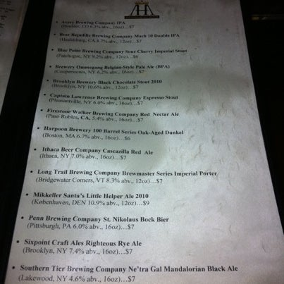 Photo taken at Amsterdam Ale House by City's Best NYC on 12/30/2010