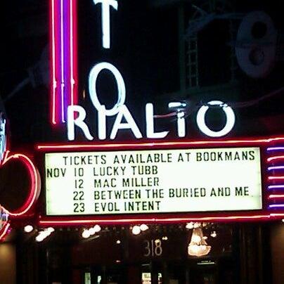 Photo taken at The Rialto Theatre by Takeisha B. on 11/7/2011
