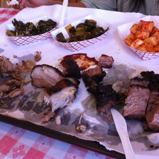 Photo taken at John Brown Smokehouse by Andrew B. on 6/15/2012