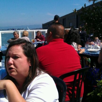 Photo taken at Pier 23 Cafe by Danielle L. on 9/17/2011