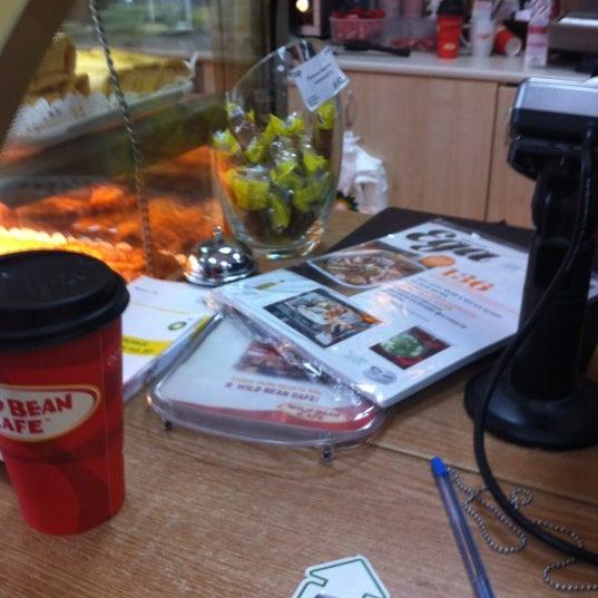 Photo taken at АЗС BP & Wild Bean Café by Alena Y. on 8/4/2012