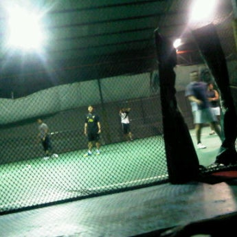 Photo taken at Anis & Eisya Danau Futsal by ayin on 11/9/2011