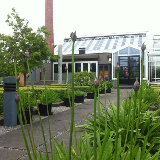 Photo taken at De Kas by Harry M. on 6/21/2012