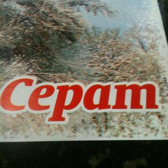 Снимок сделан в Cepam пользователем Gilberto A. 8/11/2012
