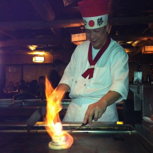 Photo taken at Mt. Fuji Japanese Steak House by JennyAnne S. on 1/7/2012