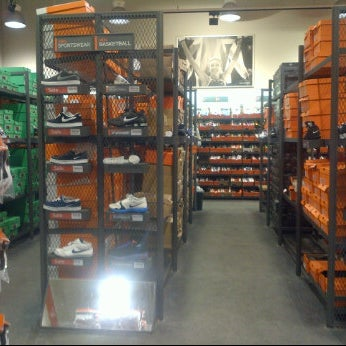 Photo taken at Nike Factory Store by akreea on 1/4/2012