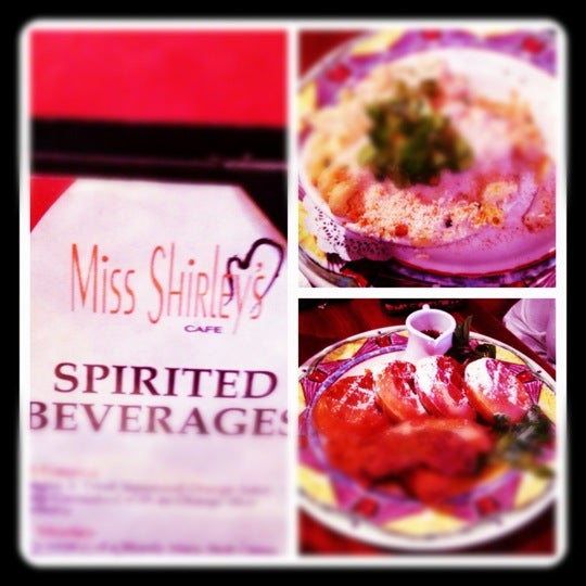 Photo taken at Miss Shirley's Cafe by Tonya M. on 3/15/2012