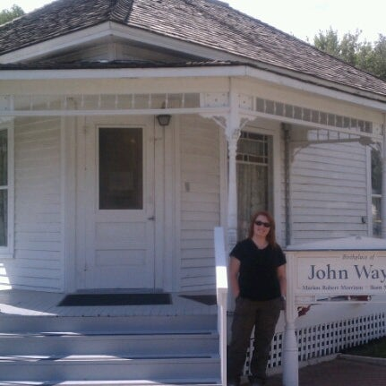 Photo taken at John Wayne Birthplace Museum by Sarah G. on 7/28/2012