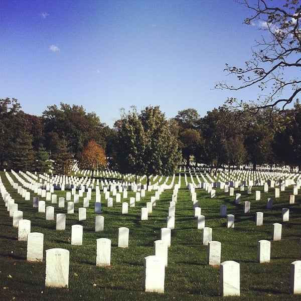 Photo taken at Arlington National Cemetery by Justin H. on 10/15/2011