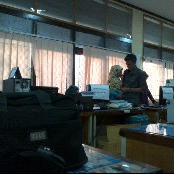 Photo taken at Dinas PU Kota Makassar by adjenk on 6/23/2012