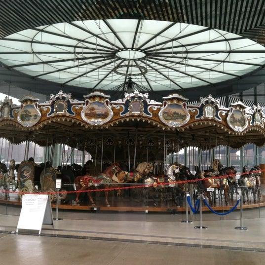 Photo taken at Jane's Carousel by Bill B. on 7/26/2012