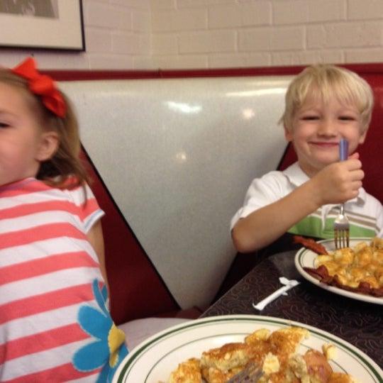 Photo taken at Hub City Diner by Luke S. on 4/7/2012