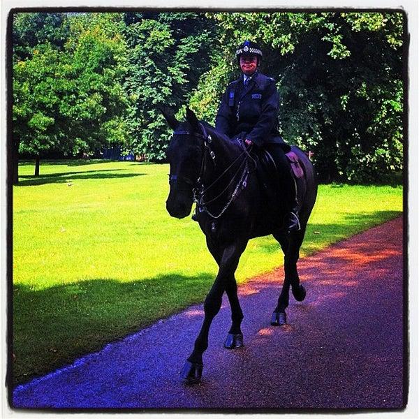 Photo taken at Kensington Gardens by Richard J B W. on 7/7/2012